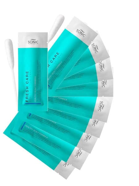 Изображение скраба Scinic Fresh Care Scalp Cotton Swab