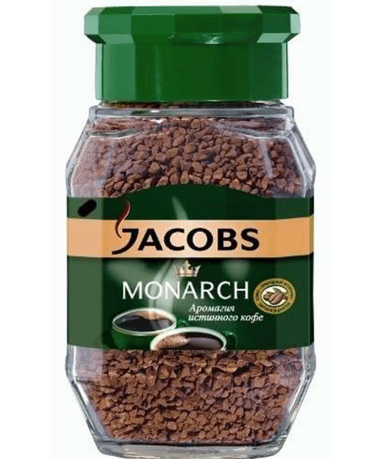 Растворимый кофе Jacobs Monarch