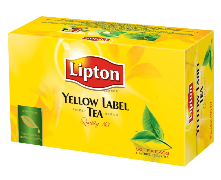 Черный чай Lipton Yellow label