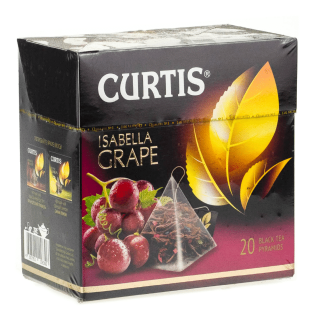 Ченый чай в пакетиках Curtis Isabella Grape