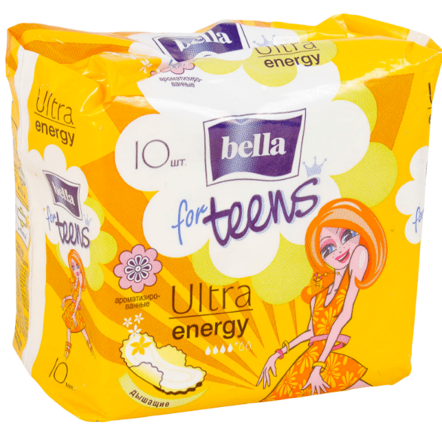 Bella for teens ultra energy deo fresh