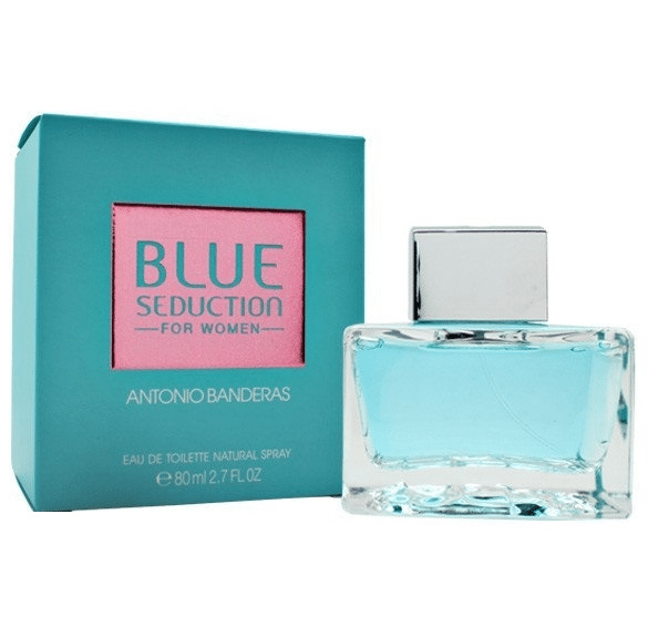 Парфюм для женщин Antonio Banderas Blue Seduction for Women