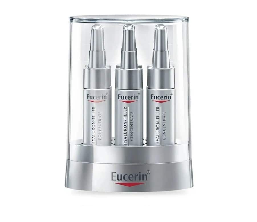 Сравнение филлера Eucerin Hyaluron-Filler Concentrate с аналогами