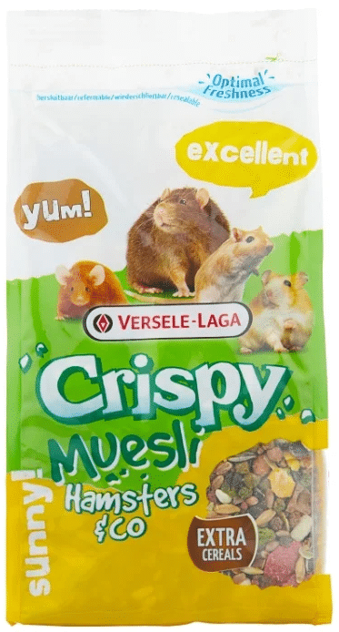 Versele-Laga Crispy Muesli Hamsters & Co